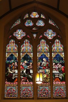 Detail inside the Scots Church - Collins Street