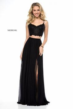 Style 51842 #Black Size 8 #SherriHill #SherriHillProm #Prom #Prom2018 #PromDress #Fashion #SpringSummer18 #PromFashion #InstaProm #GownInspo #SherriHillStyle #BridesBouquet #BlackLace #BlackDress #BlackPromDress #DarkAngel #Goddess