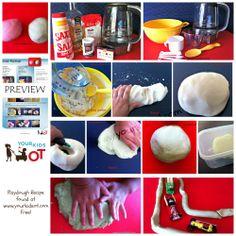 Playdough recipe found at www.yourkidsot.com {FREE}