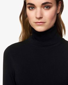 Colors Of Benetton, Turtle Neck, Sweaters, Black, Products, Fashion, Blouses, Moda, Black People