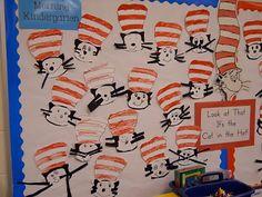 Cute ideas for Dr. Seuss