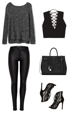 Sexy simplicity by lucydanvers on Polyvore featuring Gap and Yves Saint Laurent