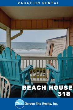 Beach House 318 is a two-bedroom, two-bath side ocean view condo within an oceanfront complex located 0.4 miles north of Garden City Pier. Three TVs (Smart TV in master) and Wi-Fi are also provided. Sleeping accommodations include one queen and one twin-over-double bunk bed with trundle. (The maximum weight limit for the twin and trundle is 220lbs and the maximum weight for the full-sized bed is 352 lbs). Check-out maid service included. Linens included. Maximum occupancy: 5.