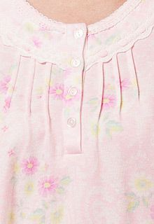 Cotton pink nightshirt from Miss Elaine Night Wear Dress, Night Dress For Women, Formal Blouses, Night Pajama, Nightgown Pattern, Maternity Nursing Dress, Kurta Neck Design, Nighties, Dress Patterns