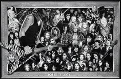 Metal (Heavy Metal Collage) Music Poster Print Poster at AllPosters.com