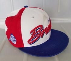 0bfd9306b0b MLB Atlanta Braves Snapback Cap Script M L New Era Cooperstown Collection  hat  NewEra  AtlantaBraves