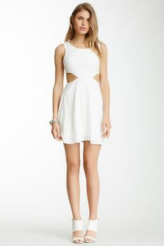 Very J Side Cutout Dress by Assorted