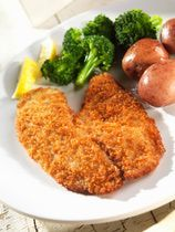 1 pound fish fillets, such as haddock, tilapia, cod, etc. oil for deep frying 1/2 cup flour salt and pepper to taste 1/4 teaspoon paprika