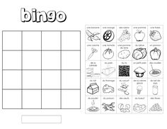 food bingo with the word on the card and then a pic on the board of the food item French Teaching Resources, Teaching French, Teaching Spanish, Teaching Reading, Teaching Kids, Teaching Language Arts, Spanish Language Learning, Language Study, French Kids