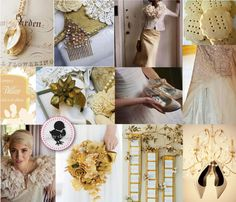 White Wedding Themes | wedding or a vintage wedding the colour gold is a must have gold ...