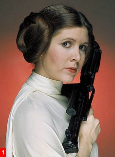I wanted to be Princess Leia when I was a young girl...
