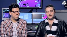 Skins titles 5 Creator and Cameraman interview on E4.