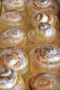 I challenge you to find a better recipe than this one. Trust me…they don't get any better!!*You can also make Cinnamon rolls or caramel pecan rolls with this dough. They take a little time, but you can make several pans, and freeze them. When I make this recipe, I triple it. It makes about 5 …
