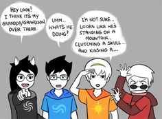 AHAHAHAHA Striders face is priceless ( you will only understand this fully if…