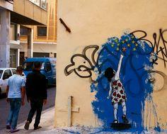 Beautiful, Subtle Political Graffiti: The European Union (EU) as a Girl