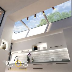 The benefits of daylight to the building environment should not be under estimated. A well designed rooflight system will capture light throughout the day regardless of the sun's position and improve peoples' well being and reduce energy costs. #rooflights #skylights #eosrooflights