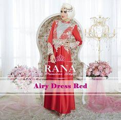Gamis modern terbaru 2015 yang keren neh...warnanya merah dan hiasan panyet pada brokat emang cakep banget http://gamismodern.org/gamis-modern-airy-dress-red.html