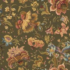 Tapestry Wallpaper, Lily Wallpaper, French Wallpaper, Luxury Wallpaper, Green Wallpaper, Print Wallpaper, Wallpaper Roll, Pattern Wallpaper, House Of Hackney Wallpaper