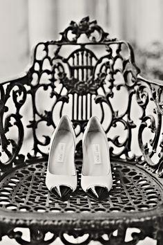 Classic bridal shoes