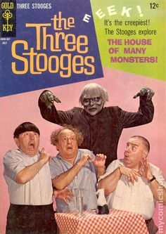 A gallery of The Three Stooges photo covers, published mid-late by Dell and Gold Key. The Stooges, The Three Stooges, Old Comics, Vintage Comics, Cartoon Books, Comic Books, Top Comedies, Classic Comedies, Real Tv