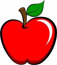 apple clipart fruit and vegetables clip art two pinterest rh pinterest com apple clip art images apple clip art black and white