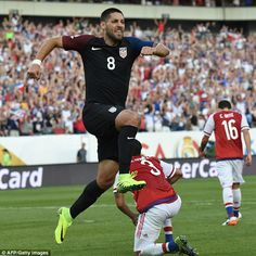 Clint Dempsey scored a vital goal for Jurgen Klinsmann's side in the first half of the match against Paraguay