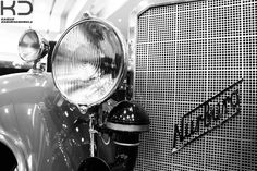 Headlight of an Antique car in black and white. By Kaizad Darukhanvala who is studying to get his Degree in Photography.