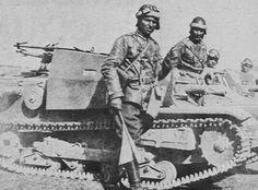 Italian Army tankette CV-33, pin by Paolo Marzioli