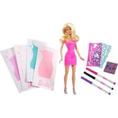Boneca Barbie Design de Vestidos - Mattel, lindos vestidos para encatar sua Barbie.