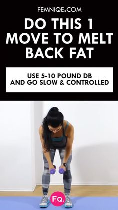 With this back fat exercise, not only will you work your upper and lower back but also your arms and shoulders. Do this back fat workout 3 times a week and watch how you transform upper body. Checkout the entire routine! Back Fat Exercises At Home, Back Fat Workout, Back Exercises, Fat Burning Workout, At Home Workouts, Fitness Diet, Health Fitness, Sport, Get In Shape