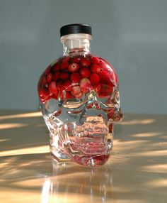 #Infuse Crystal Head with your favourite flavour! Photographer: Michael Simons