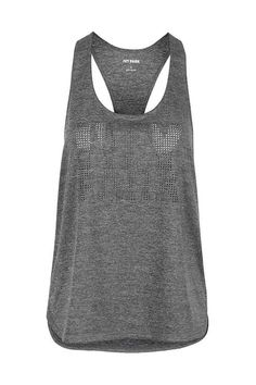 Laser Cut Logo Racer Tank Top by Ivy Park