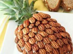 Pineapple Cheese Ball Recipe http://www.justapinch.com/recipes/appetizer/cheese-appetizer/pineapple-cheese-ball-5.html