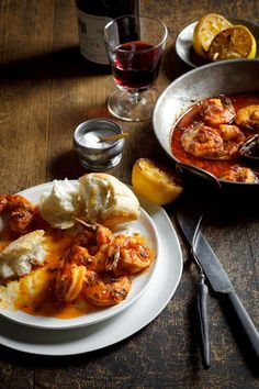 Spicy New Orleans Barbeque Shrimp Recipe for Mardi Gras | Return to Sunday Supper