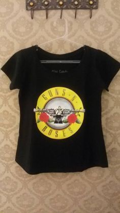 t-shirt guns n' roses - blusas candy