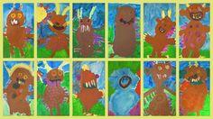 Mit diesen Bildern wünsche ich allen wunderbare Herbstferien! Am letzten Kindergartentag haben wir zusammen den Grüffelofilm ang...