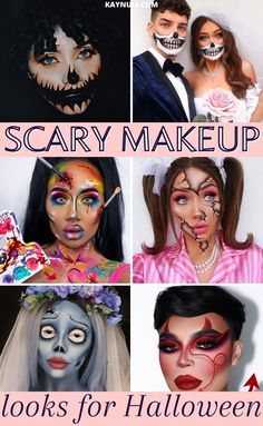 Amazing Halloween makeup looks that will terrify and appeal to everyone. Remake these sexy Halloween makeup looks for 2020 halloween season. halloween makeup looks, halloween makeup clown, halloween makeup videos, halloween makeup inspiration, halloween makeup easy, halloween makeup pretty, halloween makeup looks Disney, halloween makeup 2020, halloween makeup tutorial, halloween makeup ideas, halloween makeup scary, halloween makeup cute, halloween makeup cool # halloween # halloweenmakeup