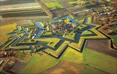 Pueblos, Fuerte Bourtange, Groningen, Holanda