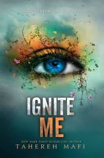 Ignite Me by Tahereh Mafi | cover love