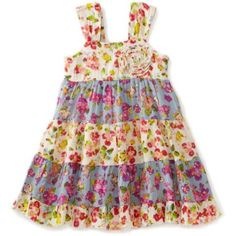 Mimi & Maggie Baby-girls Infant  Wildflowers In May Dress $60.00