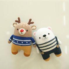 Crochet Elephant with a Flower – – Best Amigurumi Easy Crochet Patterns, Crochet Patterns Amigurumi, Amigurumi Doll, Crochet Dolls, Crochet Teddy, Cute Crochet, Crochet Baby, Knit Crochet, Flower Crochet