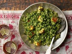 Get Saag Paneer: Spinach with Indian Cheese Recipe from Food Network
