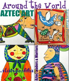 Art from Around The World Lesson Plans