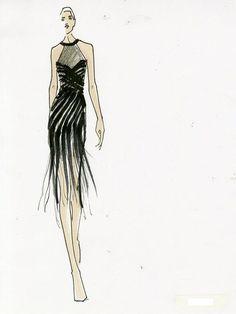 givenchy fashion illustration - Google Search