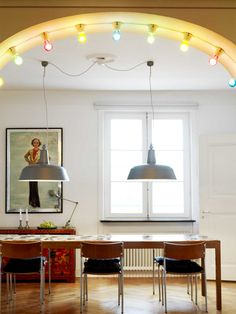 great pendant lights (by Studio Apparat)
