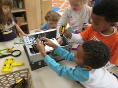 Making, Tinkering, and The Toy Store Project | National Association for the Education of Young Children | NAEYC