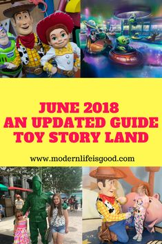 Toy Story Land June 2018 Updated Guide with all the latest information from the biggest Walt Disney Wolrd event of 2018 #toystory #toystoryland #hollywoodstudios #disneyworld