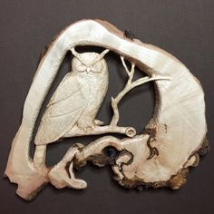 Owl Wood Carving Hand Carved Wall Art Sculpture by JoshCarteArt Wood Carving Art, Wood Art, Whittling Wood, Wood Owls, Dremel, Art Sculpture, Wood Stone, Wood Gifts, Ohio