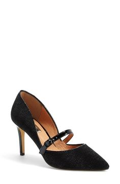 Free shipping and returns on Halogen® 'Marci' Mary Jane Pump (Women) at Nordstrom.com. With a curvaceous topline and a slim, buckled strap at the vamp, this pointy-toe pump is a feminine fusion of d'Orsay and mary-jane silhouettes.
