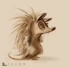 """Carolina Cuenca - """"Need Coffee"""" visual development work for Ilion Animation Studios ★ Find more at http://www.pinterest.com/competing/"""